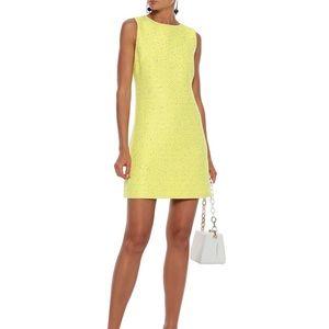 NWT Alice + Olivia sequin neon tweed mini dress
